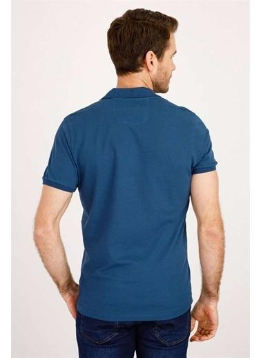 IGS Erkek Marın Modernfıt / Dar Kalıp Std Tışört Mavi